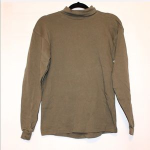 sport turtle neck long sleeve top Size large